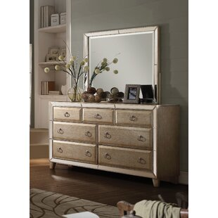 Hester 7 Drawer Dresser with Mirror