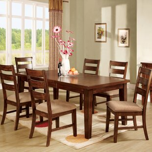 Pristine 7 Piece Extendable Dining Set