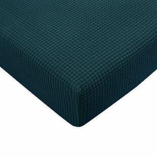 Plaid Stretch Box Sofa Cushion Cover by Winston Porter