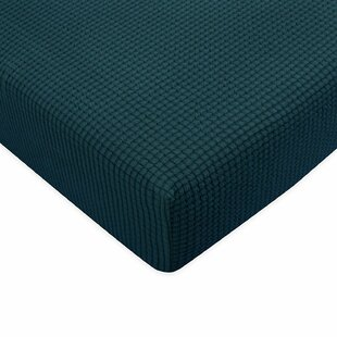 Affordable Plaid Stretch Box Sofa Cushion Cover by Winston Porter Reviews (2019) & Buyer's Guide