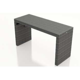 Hobbs 6-Seater Wicker Bar Table