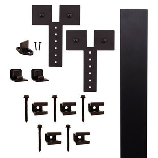 Dually Strap Barn Door Hardware Kit by Quiet Glide