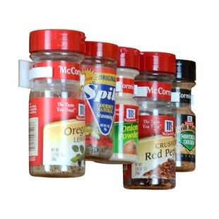 Cabinet Door 20 Jar Spice Rack by Rebrilliant