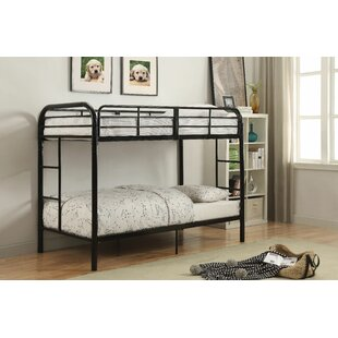 Eddyville Twin Over Twin Bunk Bed by Harriet Bee