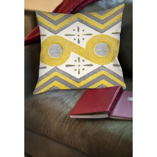 Salzman Printed Throw Pillow