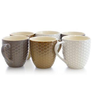 Hartung Honeycomb Coffee Mug (Set of 6)