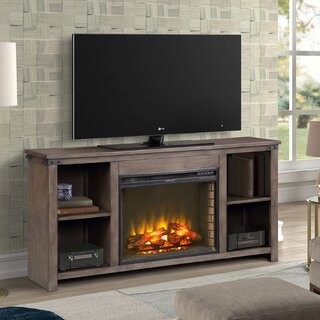 "Bletchley TV Stand for TVs up to 70"" with Electric Fireplace Included by Gracie Oaks SKU:BC232559 Details"