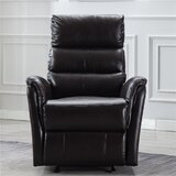Monie Faux Leather Manual Recliner by Winston Porter