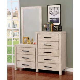 Mcmillion 8 Drawer Dresser with Mirror