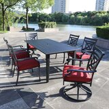 Mize 7 Piece Multiple Chairs Seating Group by Canora Grey