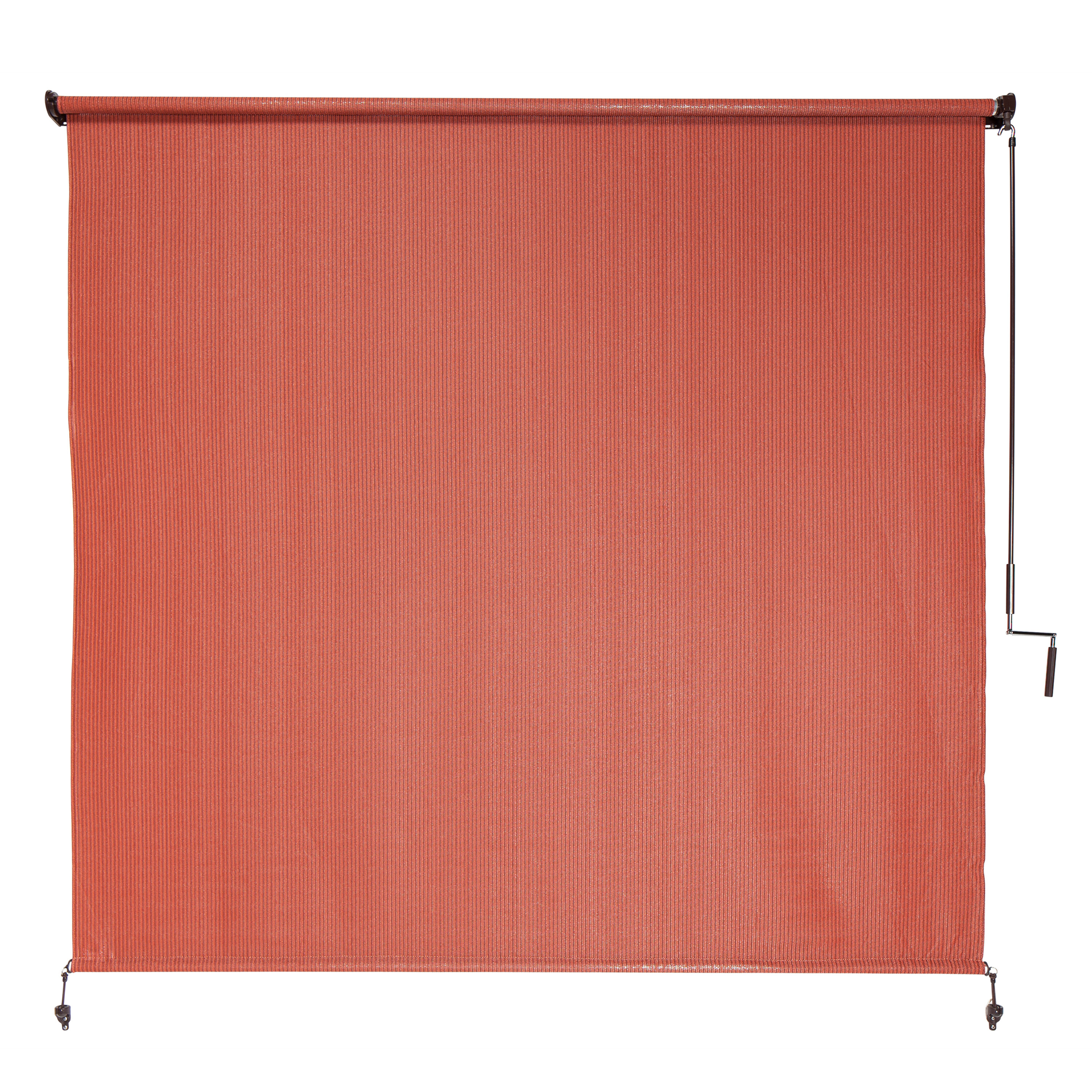 Coolaroo Terracotta Outdoor Roller Shade & Reviews | Wayfair