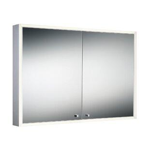 Crosthwait 3975 x 275 Surface Mount Flat Edge Medicine Cabinet