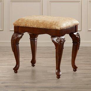 Affordable Price Churchwell Vanity Stool ByAstoria Grand