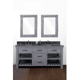Bales 61 Double Bathroom Vanity Set by Gracie Oaks