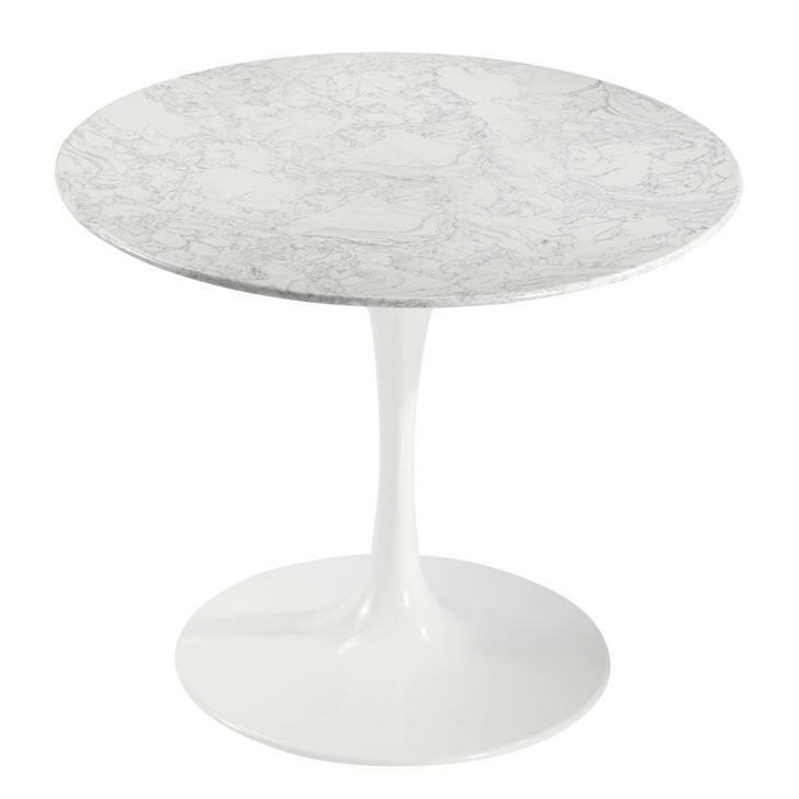 Faux White Marble Dining Table Wayfair