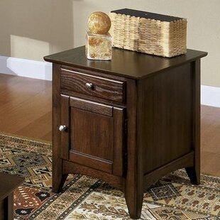 Keyser End Table by Alcott Hill