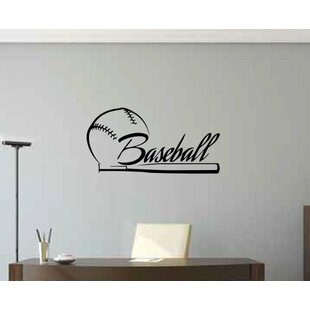 Ruthie Baseball Wall Decal