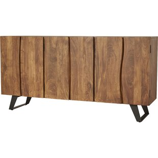 Modern & Contemporary Live Edge Sideboard | AllModern