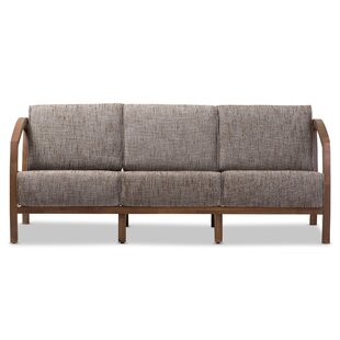 Comparison Baxton Studio Arrigo 3 Seater Sofa by Wholesale Interiors Reviews (2019) & Buyer's Guide