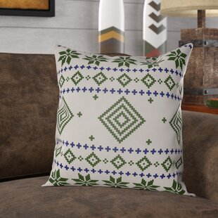 Battlement II Indoor Outdoor Throw Pillow