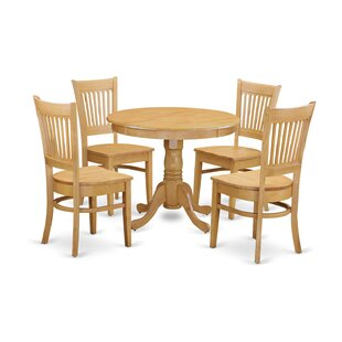 5 Piece Dining Set by Wooden Importers #1