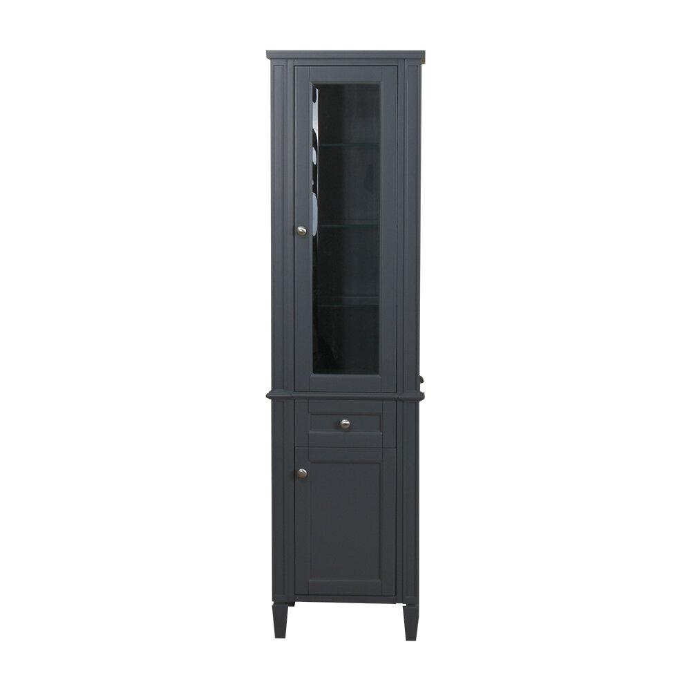 charlton home bemidji 19 w x 72 h linen tower wayfair wayfair com