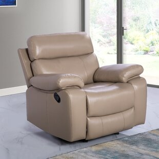 Bargain Mellor Leather Manual Recliner by Red Barrel Studio Reviews (2019) & Buyer's Guide