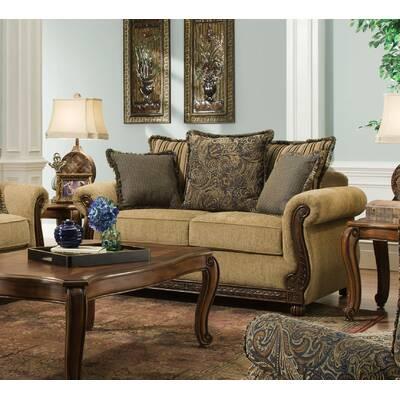 d art collection louis double ended sofa wayfair rh wayfair com