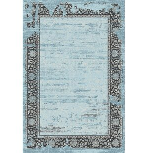 Como Blue Indoor/Outdoor Area Rug
