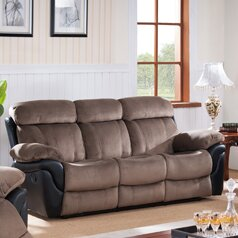 Inexpensive Reclining Sofa by Wildon Home® Reviews (2019) & Buyer's Guide