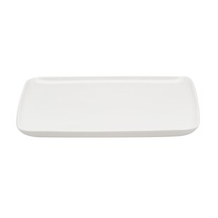 Everytime 10.5  x 8.5  Rectangular Dinner Plate (Set of 6)  sc 1 st  Wayfair & Rectangular Plates u0026 Saucers Youu0027ll Love | Wayfair