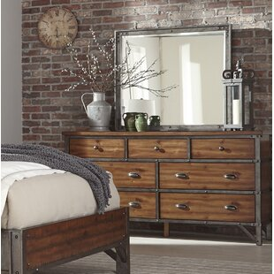 Haverhill 7 Drawer Dresser with Mirror