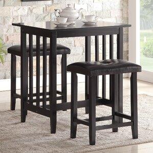 Bar Table And Chair pub table sets you'll love | wayfair