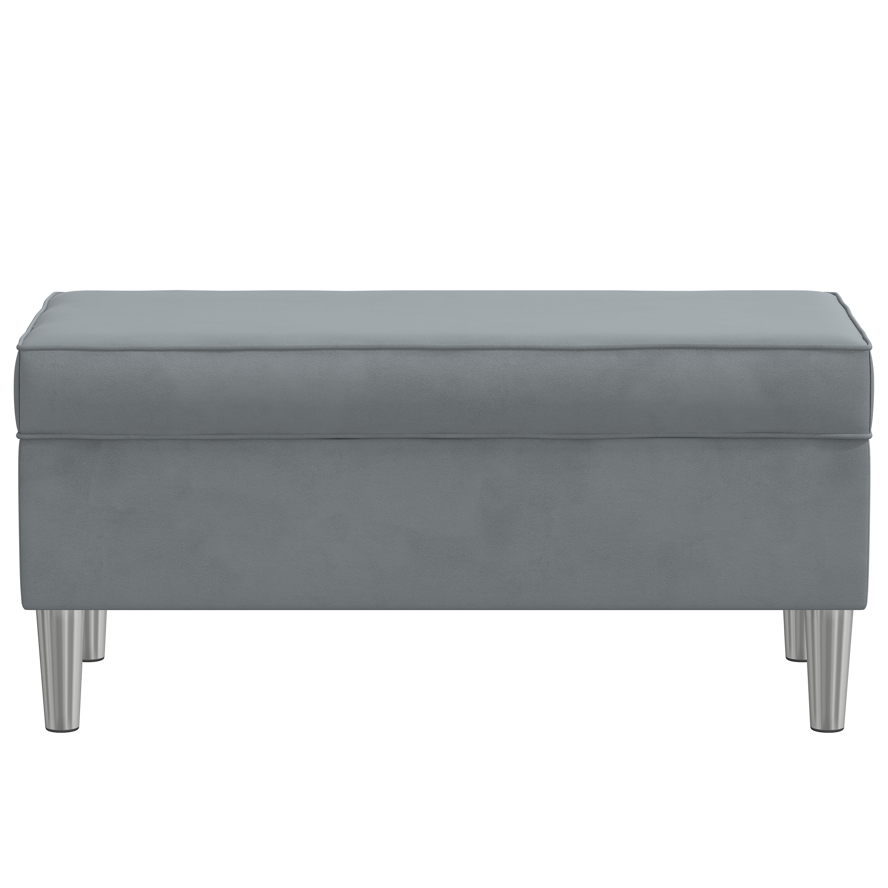 Picture of: Grey Velvet Benches You Ll Love In 2020 Wayfair