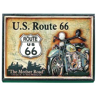 'Route 66' Framed Vintage Advertisement by Winston Porter