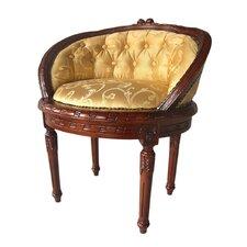 Lillebonne Low Back Barrel Chair by Design Toscano