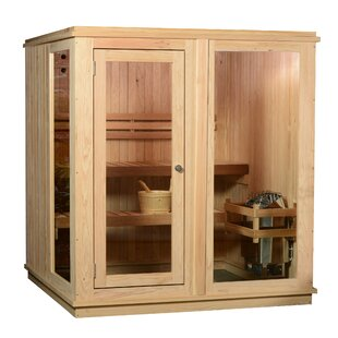 Grayson 4 Person Traditional Steam Sauna by Almost Heaven Saunas LLC