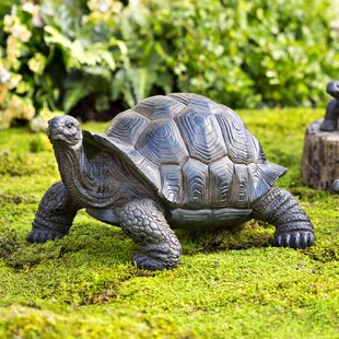 tortoise family resin garden accents statue - Garden Animals