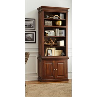 Lillydale Mahogany Standard Bookcase by Charlton Home Wonderful