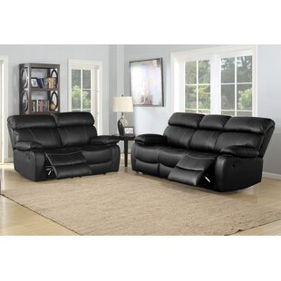 Michela Reclining 2 Piece Living Room Set by Red Barrel Studio