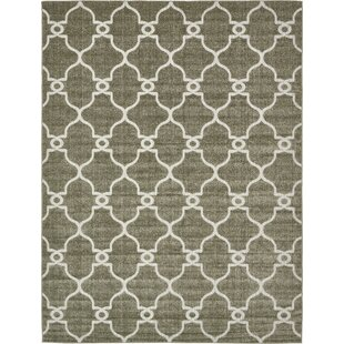 Garris Brown/Beige Indoor/Outdoor Area Rug