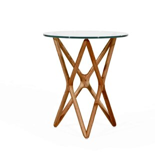 Read Reviews Alamo Tall End Table by Foundry Select