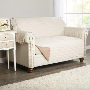 Wayfair Basics Box Cushion Loveseat Slipcover