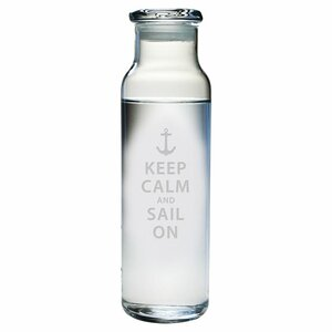 Keep Calm and Sail 24 oz. Water Bottle