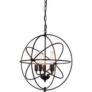 Hamby 5-Light Globe Pendant