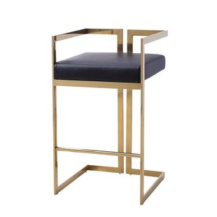 Laplant Modern 26.77 Bar Stool Everly Quinn