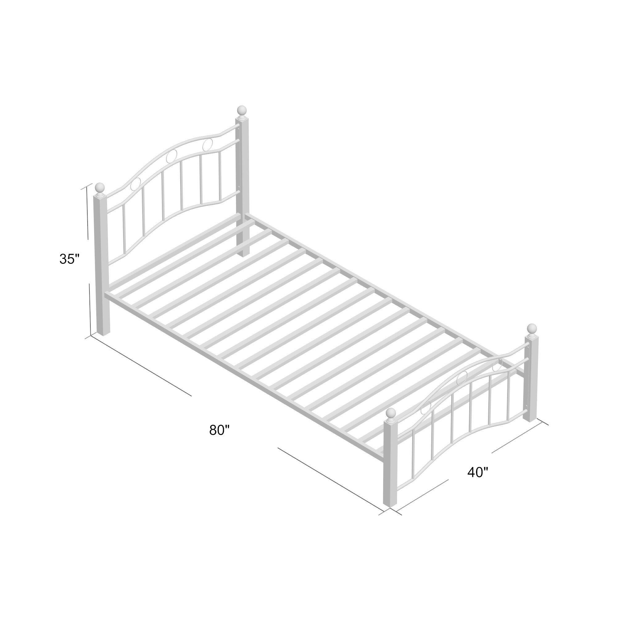 August Grove Souliere Platform Bed & Reviews | Wayfair