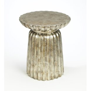 Price comparison Bineau Pedestal End Table By World Menagerie