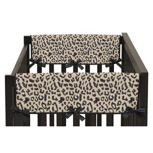 Budget Animal Safari Side Crib Rail Guard Cover (Set of 2) BySweet Jojo Designs