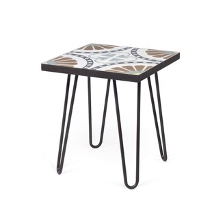 Choual End Table by Bungalow Rose 2019 Online